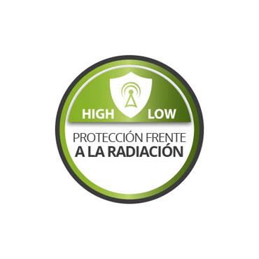 Protege frente a la radiación