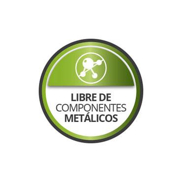 Libre de componentes metálicos