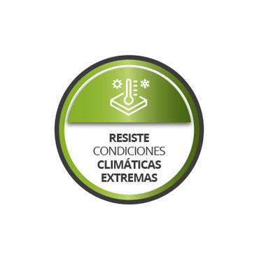Resistente exteriores y cambios de temperatura