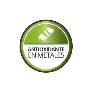 Antioxidante para metales