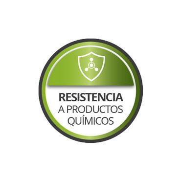 Resistencia a productos químicos