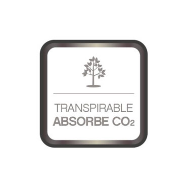 Pintura transpirable. Absorbe CO2