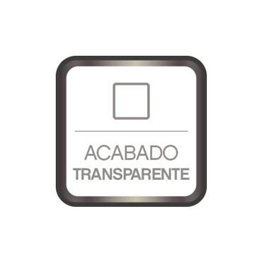 Acabado transparente