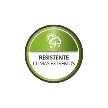 Resiste climas extremos