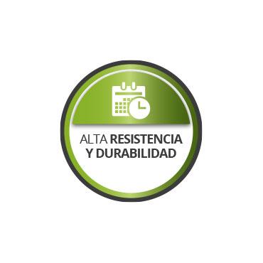 Alta resistencia y durabilidad