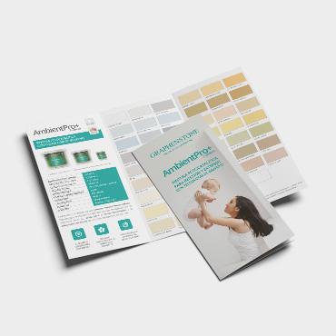 Brochure tríptico Graphenstone AmbientPro+ 2018