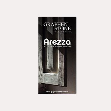 Brochure tríptico Graphenstone Arezza 2018