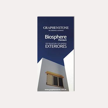 Brochure tríptico Graphenstone Biosphere 2019