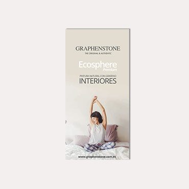 Brochure tríptico Graphenstone Ecosphere 2019