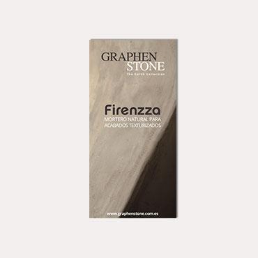 Brochure tríptico Graphenstone Firenzza 2018