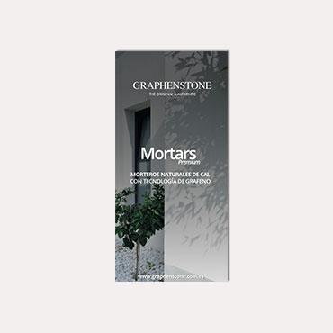 Brochure tríptico Graphenstone Mortars 2019