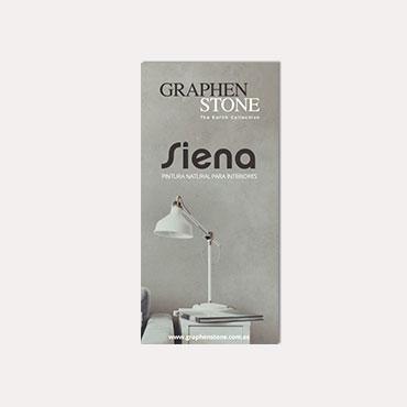 Brochure tríptico Graphenstone Siena 2018