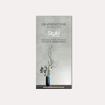 Brochure tríptico Graphenstone Stuki 2019
