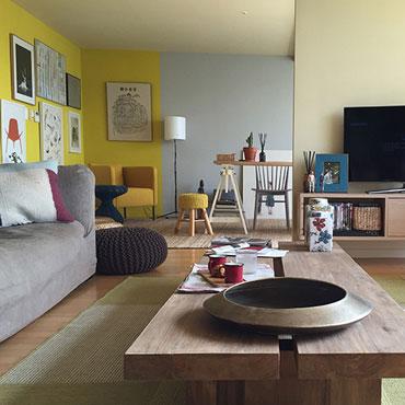 Graphenstone renovación de apartamento en Corea
