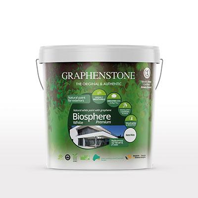 Pintura natural ecológica con grafeno
