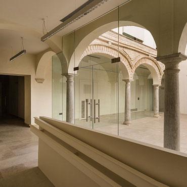 Graphenstone restauración centro cultural Ignacio Halcón
