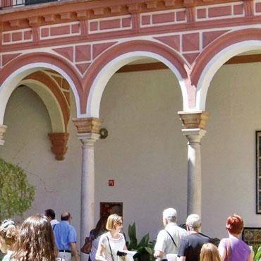 Graphenstone restauración del Museo de Bellas Artes de Sevilla