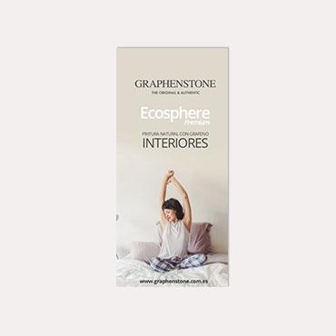 Brochure tríptico Graphenstone Biosphere 2018