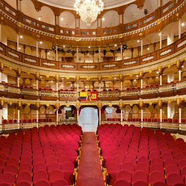 Graphenstone restauración del teatro Heredia de Colombia