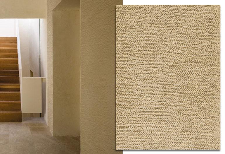 Mortero ecológico para acabados texturizados