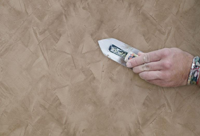 Pintura de efecto mármol. Estuco veneciano