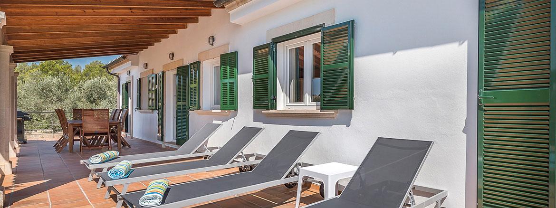 Graphenstone renovación villa Ca Na Barons, Mallorca