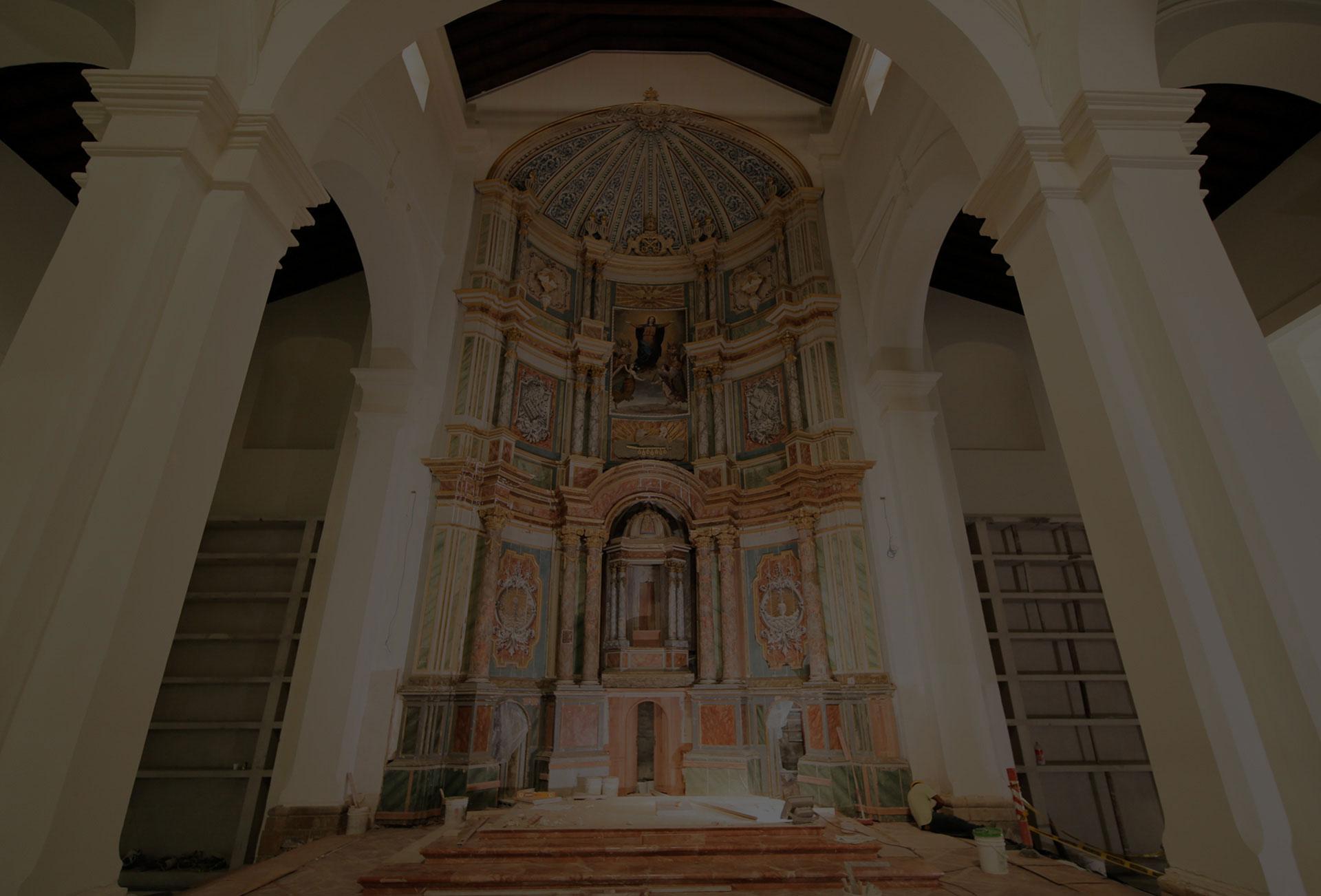 Restauración de la Catedral de Panamá