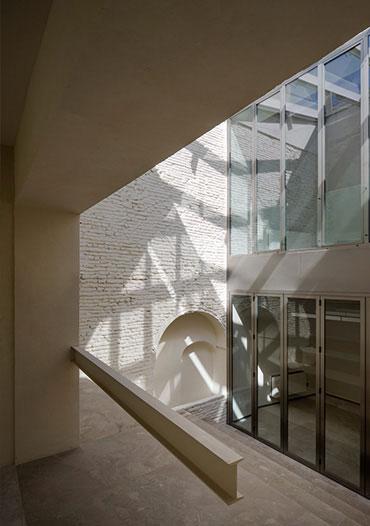 Bioconstrucción. Graphenstone restauración del centro cultural Ignacio Halcón
