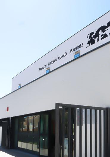 Graphenstone renovación del Pabellón Deportivo Antonio García en Mairena del Alcor, Sevilla.