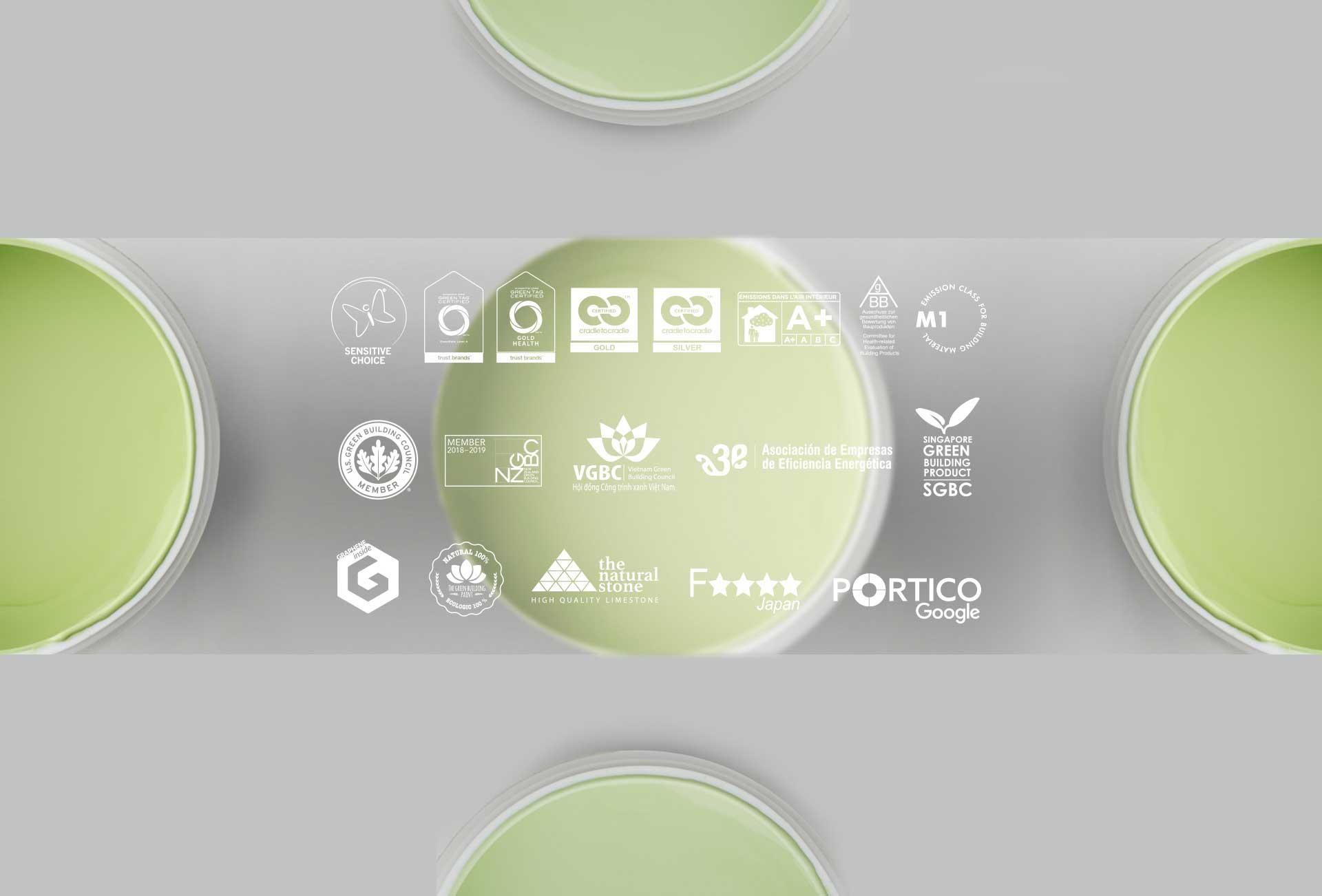 Graphenstone es la marca con más certificaciones ecológicas del mundo