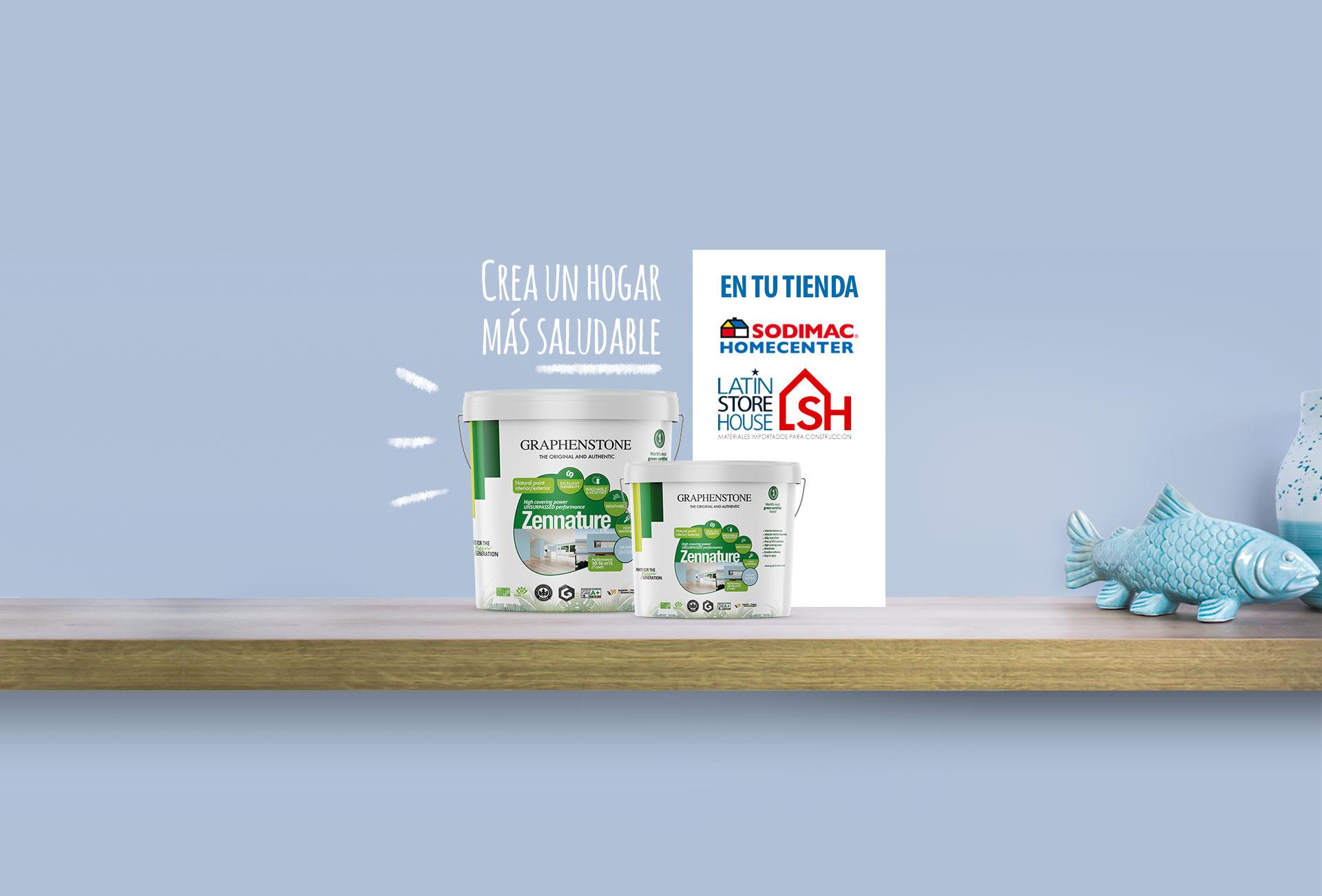 Productos Graphenstone en tiendas Sodimac