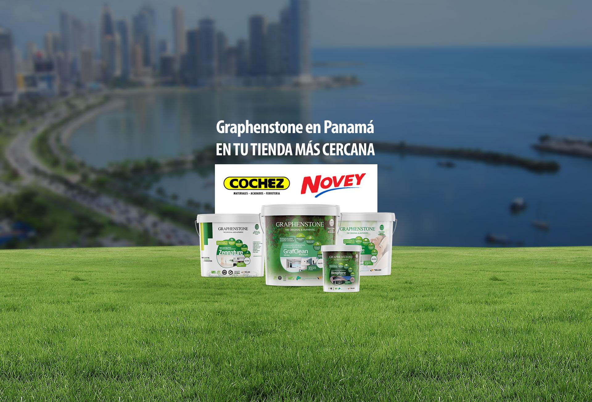 Productos Graphenstone en tiendas Novey y Cochez
